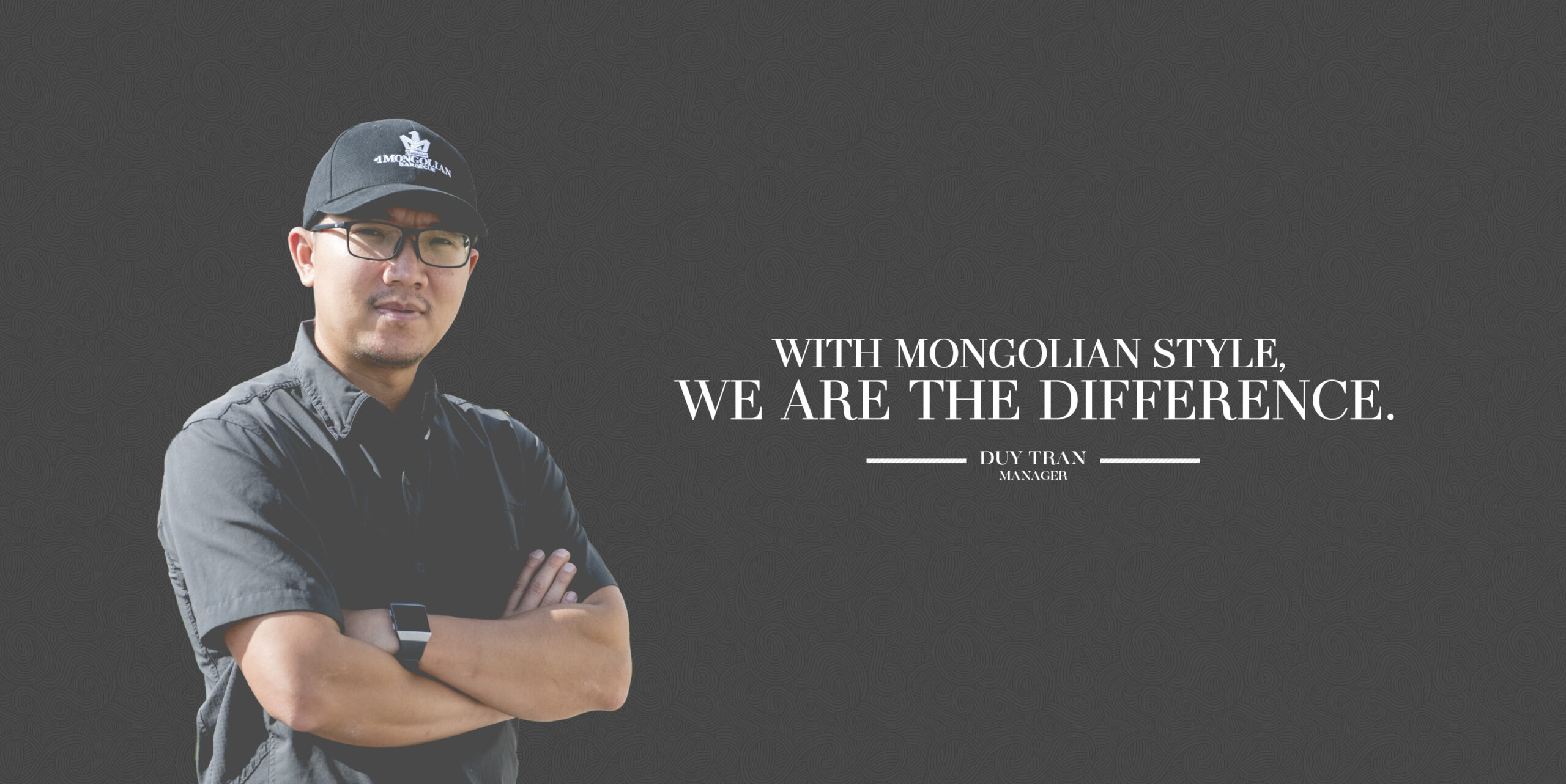 #1 MONGOLIAN BBQ _ WE ARE DIFFERENT